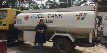 When Inspection of Mobile Fuel at Riau, Sumatera